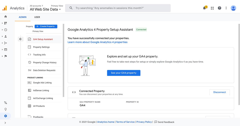 GA4 Property Setup Assistant